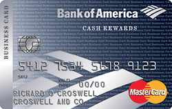 Bank of America Cash Rewards for Business Mastercard (Card Creative)