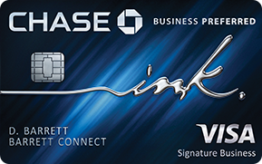 Chase Ink Business Preferred Credit Card