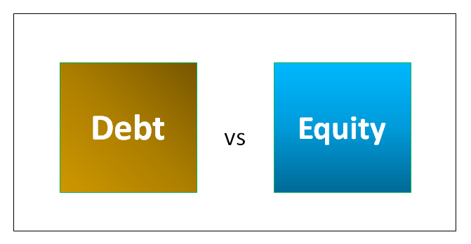 difference between debt and equity